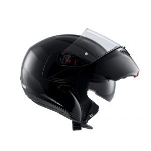 AGV Compact ST Solid Black