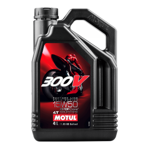 MOTUL 300V 15W50 Factory Line Road Racing - 4L