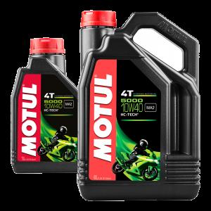 MOTUL 5000 10W40 4T Promo Pack 4L (+ FREE 1L Pack)