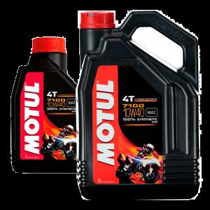 MOTUL 7100 10W40 4T Promo Pack 4L (+ FREE 1L Pack)