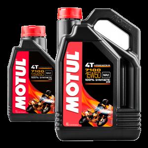 MOTUL 7100 15W50 4T Promo Pack 4L (+ FREE 1L Pack)