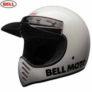 Bell Moto-3 Classic Gloss White