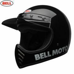 Bell Moto-3 Classic Gloss Black