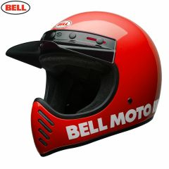 Bell Moto-3 Classic Gloss Red